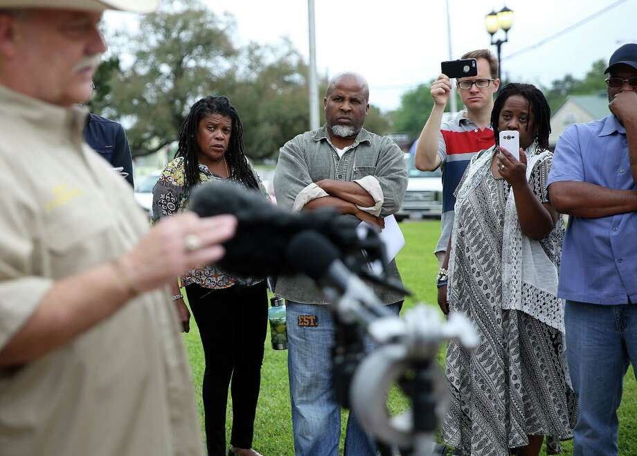 Waller County Sheriff R. Glenn Smith said Tuesday his office has begun addressing some of the concerns. Photo: Elizabeth Conley, Staff / © 2016 Houston Chronicle
