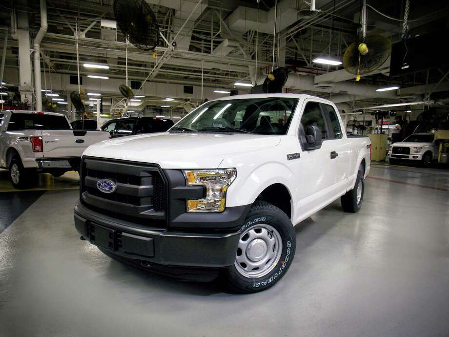 The 2016 Ford F-150 with 5.0-liter Ti-VCT V8 engine offering gaseous-fuel prep option is rolling off the line at Kansas City Assembly Plant, making it the only light-duty pickup capable of running on compressed natural gas (CNG) or propane.  The 2016 Ford F-150 is the only full-size pickup truck to score the top rating in new front crash tests performed by the insurance industry. Rival pickups from Chevrolet, GMC, Ram and Toyota didn't fare as well, according to results released Tuesday, April 12, 2016, by the Insurance Institute for Highway Safety. (Ford Motor Company via AP) Photo: HONS / Ford Motor Company