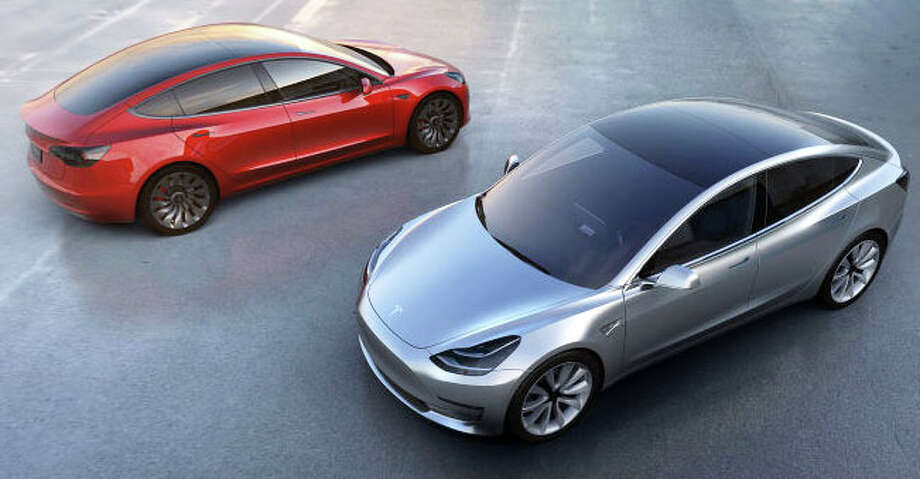 """""""Tesla's recent introduction of the Tesla Model 3 with a base price of $35,000 is the first entre into the realm of affordable, usable daily driving fully electric cars,"""" writes columnist Mark Mathias. Photo: Contributed / Contributed Photo / Westport News"""
