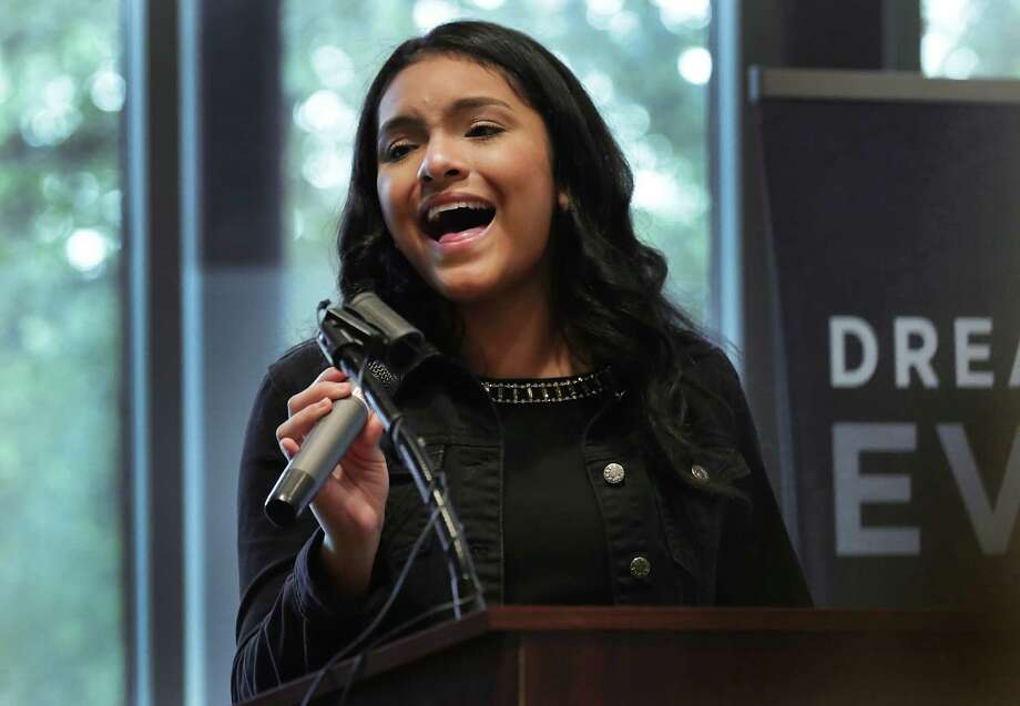 Isabel  Marie Sanchez of Q Productions. Photo: BOB OWEN, San Antonio Express-News / San Antonio Express-News