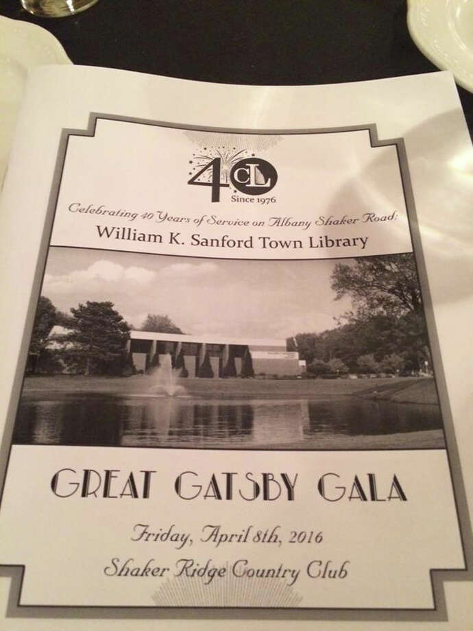 Were you Seen at the Great Gatsby Gala, a fundraising event for the William K. Sanford Town Library in Colonie, held at Shaker Ridge Country Club in Colonie on Friday, April 8, 2016? Photo: Evelyn Neale