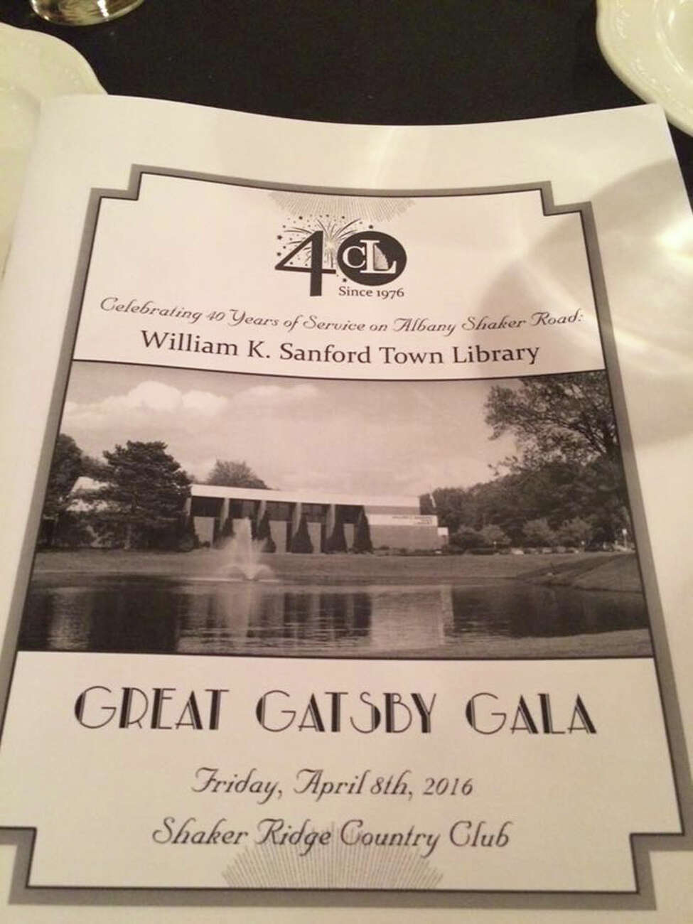 Were you Seen at the Great Gatsby Gala, a fundraising event for the William K. Sanford Town Library in Colonie, held at Shaker Ridge Country Club in Colonie on Friday, April 8, 2016?