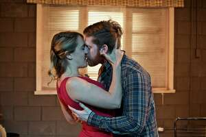 "Josephine Ganner and Blake Weir star in the Landing Theatre Company production of ""Fool for Love."""