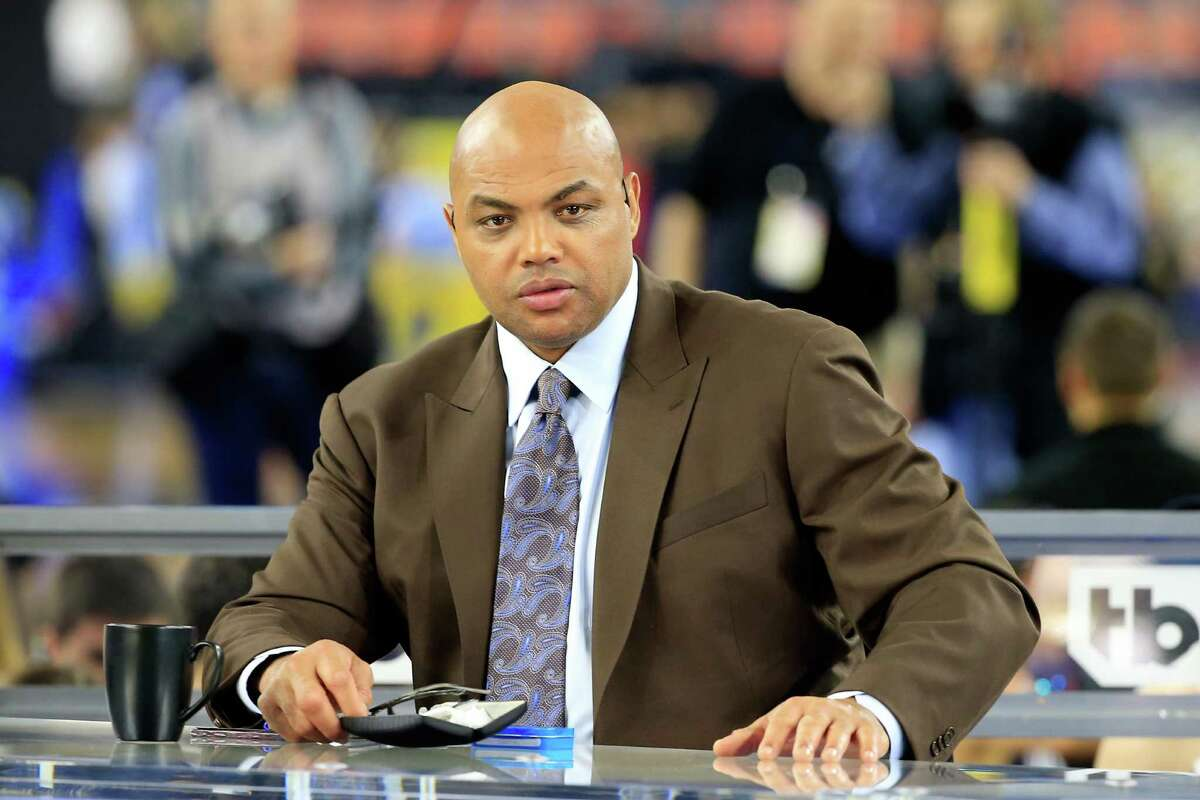 HOUSTON, TEXAS - APRIL 04: Former NBA player and commentator Charles Barkley looks on prior to the 2016 NCAA Men's Final Four National Championship game between the Villanova Wildcats and the North Carolina Tar Heels at NRG Stadium on April 4, 2016 in Houston, Texas.