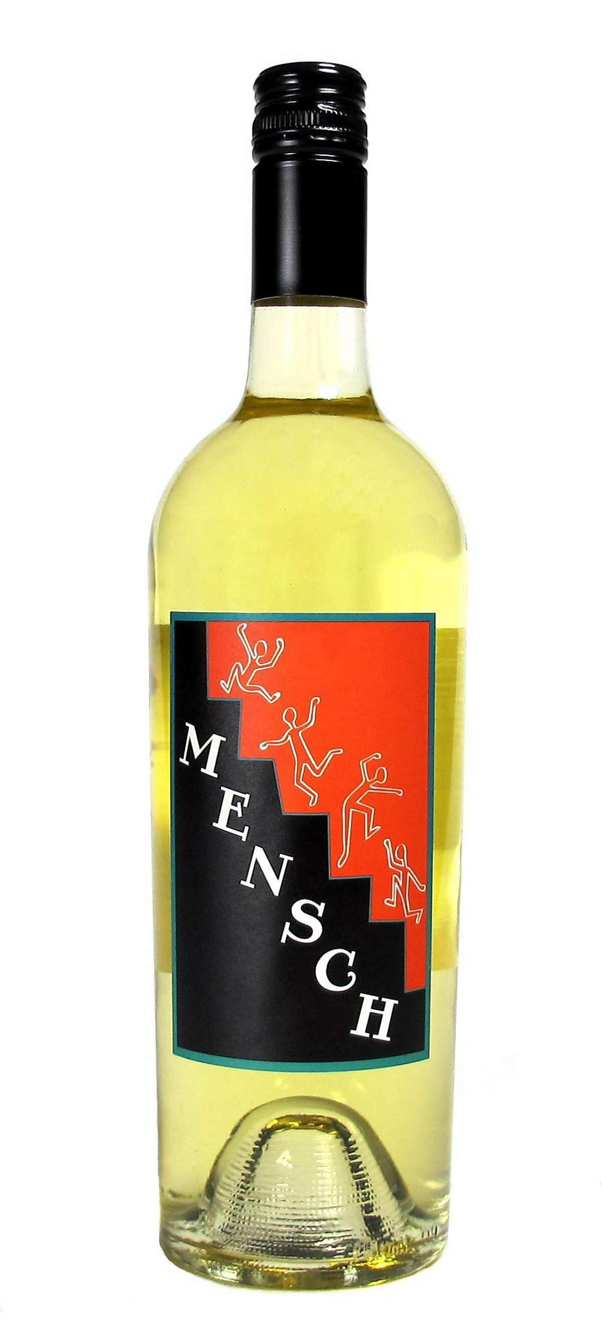 Mensch White Wine California 2014 ($20)