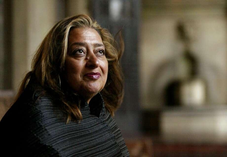 Award-winning Iraqi-British architect Zaha Hadid diedMarch 31. She was 65. Photo: Kevork Djansezian, AP