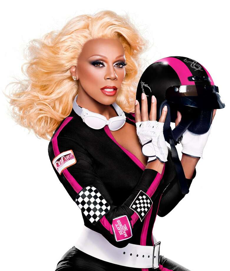 RuPaul promises excitement at the TV show contestants' tour. Photo: Logo TV