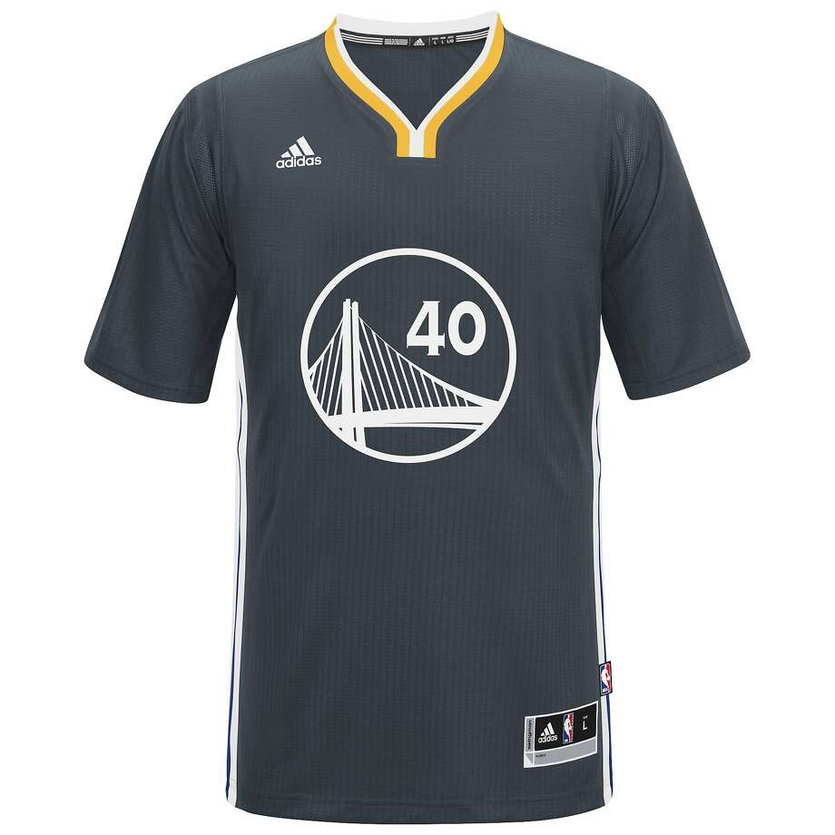 The Warriors slate alternate jerseys, worn for most Saturday home games and most away games during the regular season. Photo: Courtesy Golden State Warriors