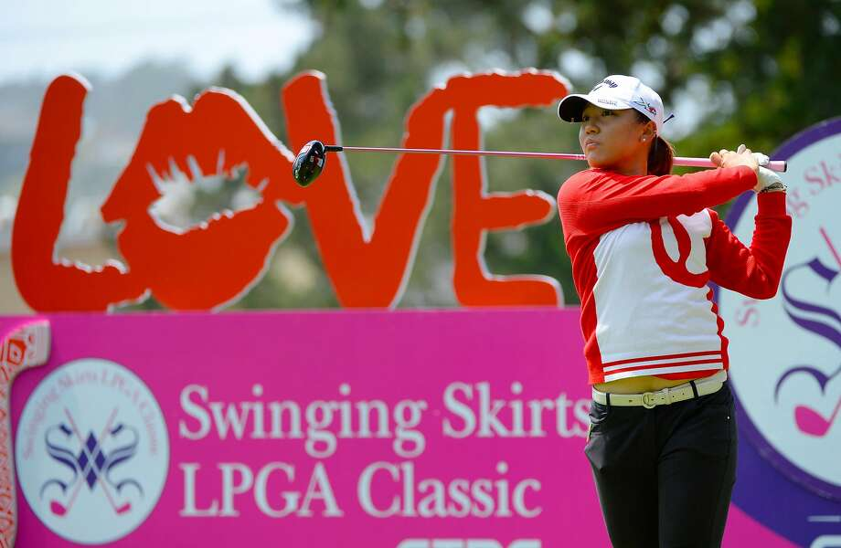 SAN FRANCISCO, CA - APRIL 23:  Lydia Ko of New Zealand makes a tee shot on the fourth hole during round one of the Swinging Skirts LPGA Classic presented by CTBC at the Lake Merced Golf Club on April 23, 2015 in San Francisco, California.  (Photo by Robert Laberge/Getty Images) Photo: Robert Laberge / Getty Images
