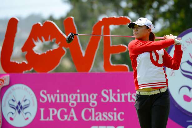 SAN FRANCISCO, CA - APRIL 23:  Lydia Ko of New Zealand makes a tee shot on the fourth hole during round one of the Swinging Skirts LPGA Classic presented by CTBC at the Lake Merced Golf Club on April 23, 2015 in San Francisco, California.  (Photo by Robert Laberge/Getty Images)