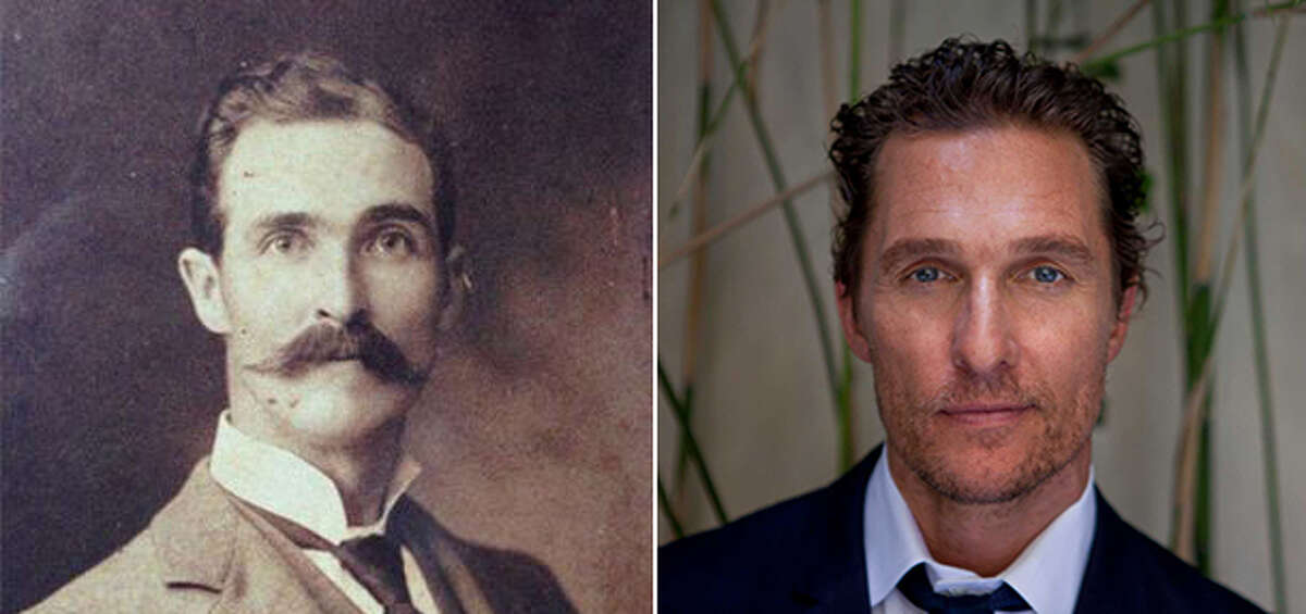 Matthew McConaughey looks an awful lot like this one Reddit user's great-great grandfather.