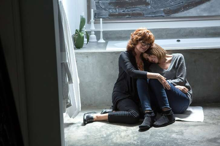 "L-R Susan Sarandon as Marnie Minervini and Rose Byrne as her daughter Lori in ""The Meddler,"" opening at Bay Area theaters on Friday, April 29. Photo by Jaimie Trueblood, courtesy of Sony Pictures Classics."