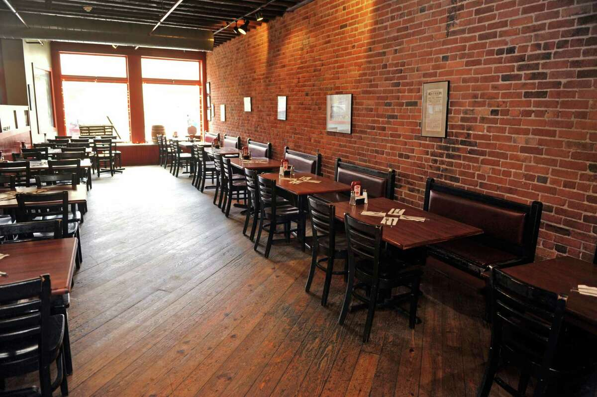 A view of the dining room at Brown's Brewing Company on Wednesday, March 23, 2016, in Troy, N.Y. (Paul Buckowski / Times Union)
