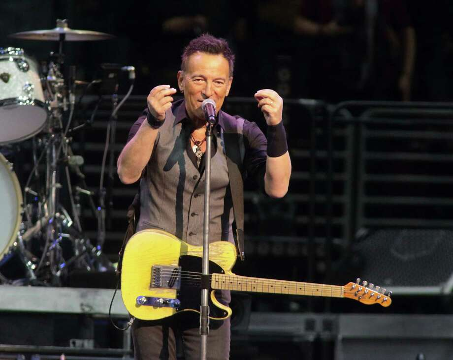 "Bruce Springsteen and the E Street Band, shown here performing last month in Philadelphia, canceled a recent concert in Greensboro, North Carolina, to protest the so-called ""bathroom bill"" aimed at the LGBT community. A reader discusses the challenges of policing such a law. Photo: Owen Sweeney /Owen Sweeney /Invision /AP / Invision"
