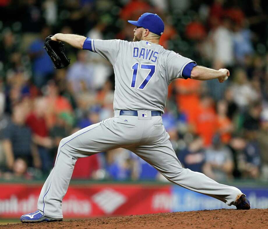 Wade Davis, closerThe 32-year-old Davis is the best reliever on the market, which means he's automatically being mentioned as someone in who the Astros are interested. After saving 27 games for the Royals in 2016, Davis had 32 saves with the Cubs this season. Photo: Bob Levey, Stringer / 2016 Getty Images