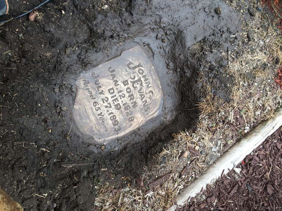 Government Hill Resident Finds Tombstone Buried In Yard And It S
