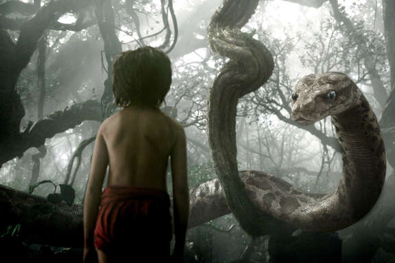 """""""The Jungle Book,"""" a live-action adventure starring Neel Sethi as Mowgli, remained king of the box office for the second straight week."""