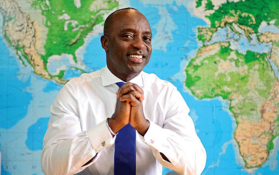 Oni Chukwu, CEO of the Norwalk-based event management software company etouches. Photo: /