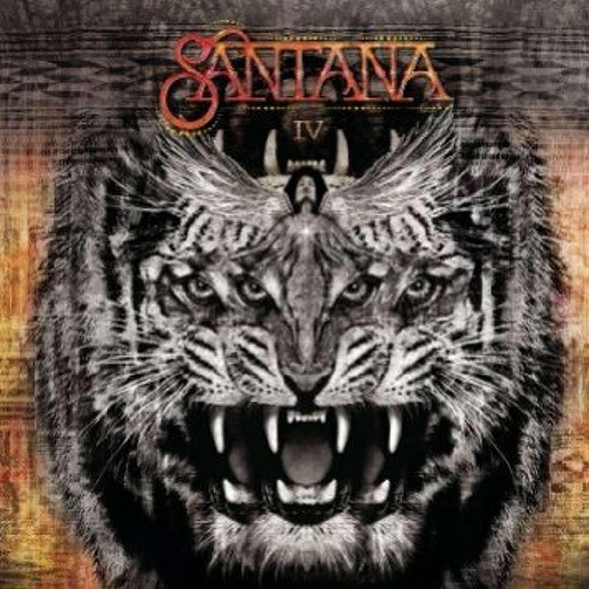 """Carlos Santana's new album """"Santana IV"""""""