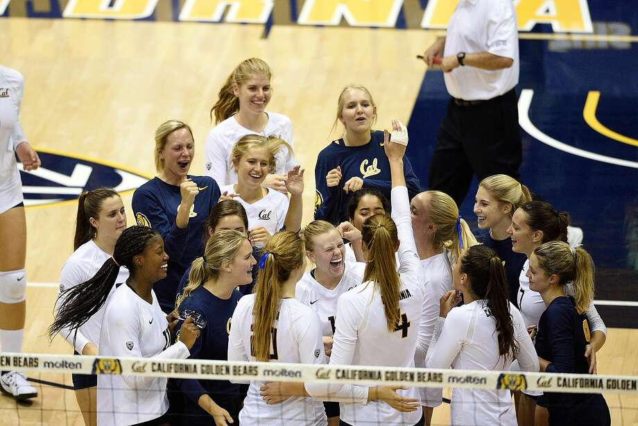 The Cal women's volleyball team followed up a disappointing 2015 season with a high APR score. Photo: Richard C. Ersted, GoldenBearSports.com
