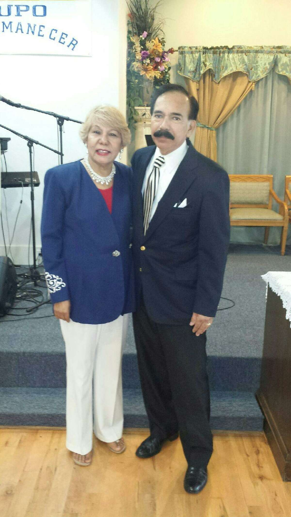 Jesse Estrada Sabillon, right, and his wife, Marie Sabillon were killed in a traffic crash Tuesday, April 12, 2016. (Sabillon family)