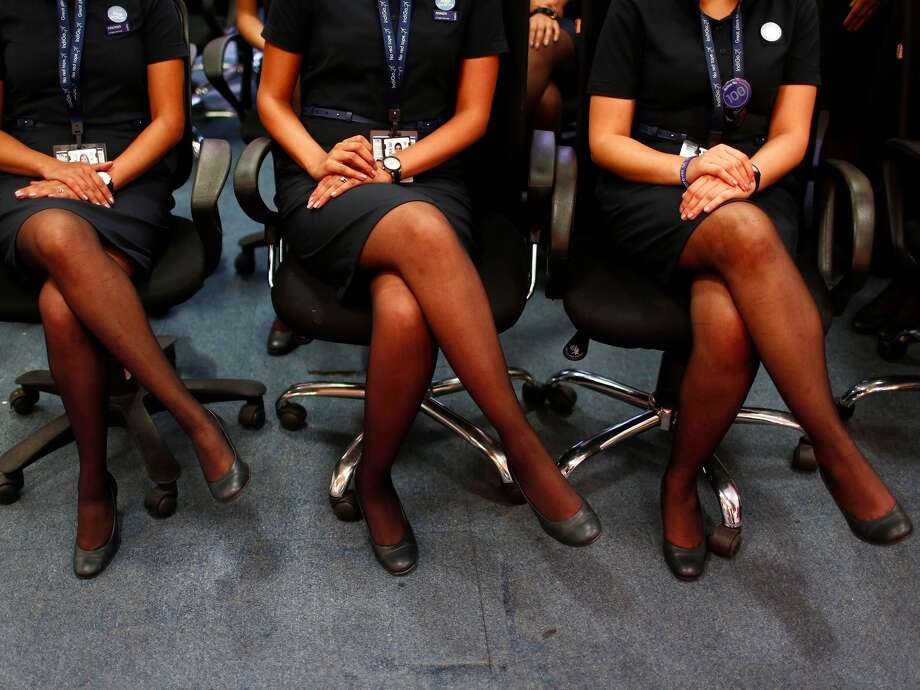 Here are some of the toughest questions a flight-attendant candidate might be asked in the selection process. (Adnan Abidi/Reuters)