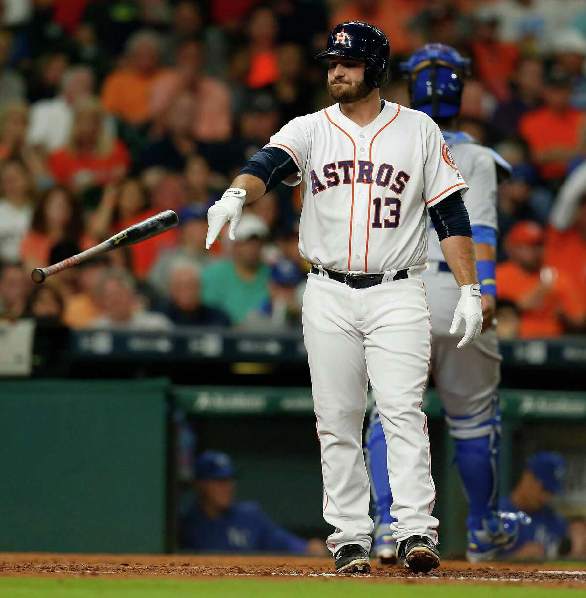 Situational hitting has been an early bugaboo for Tyler White and the Astros.