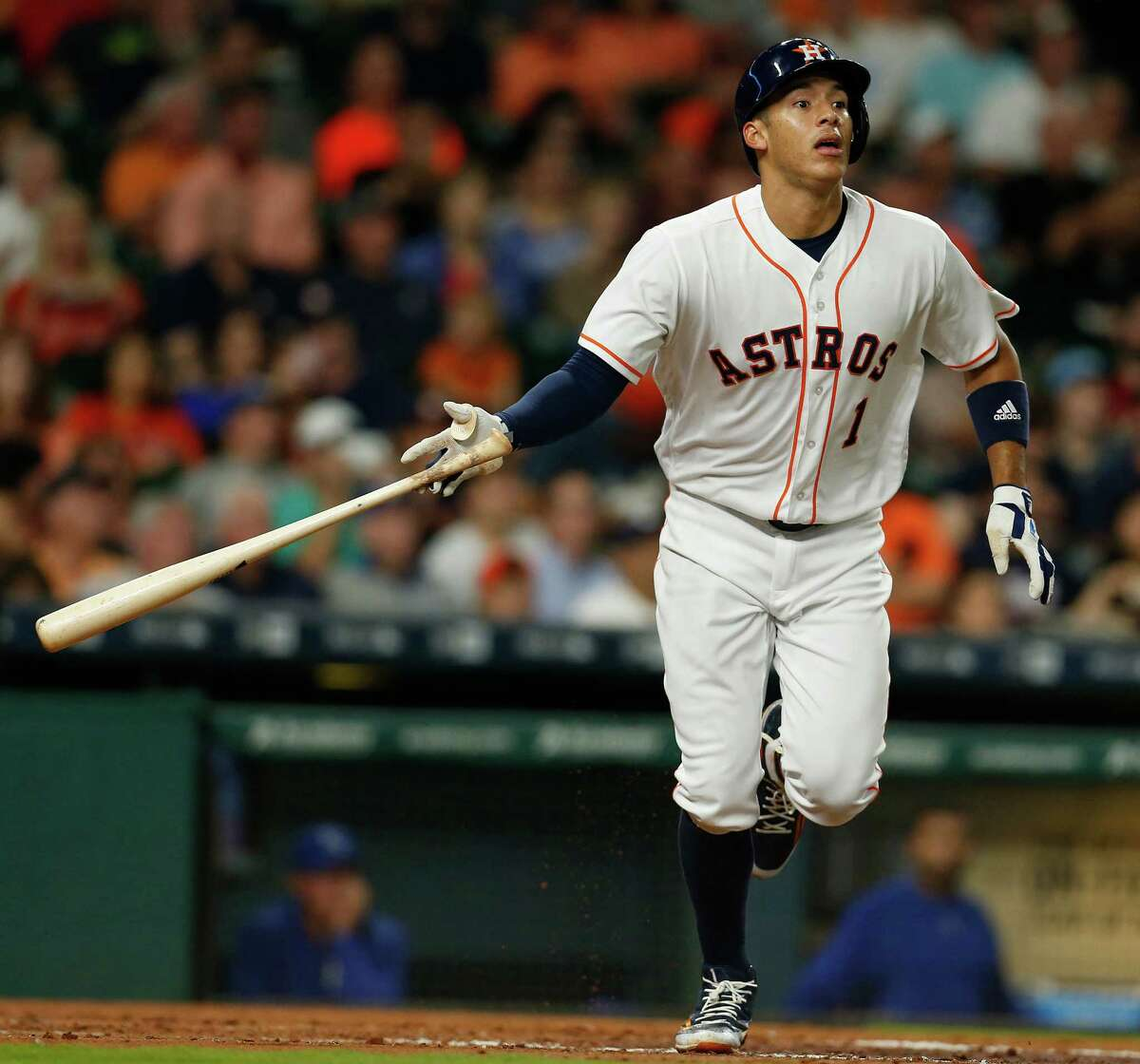 Carlos Correa The 21-year-old was last season's AL Rookie of the Year and is already showing he's not some one-season wonder, having hit three home runs to go with seven RBIs in the early going. He can change a game with one swing and should have plenty of opportunities with three-time All-Star Jose Altuve and George Springer setting the table in front of him.