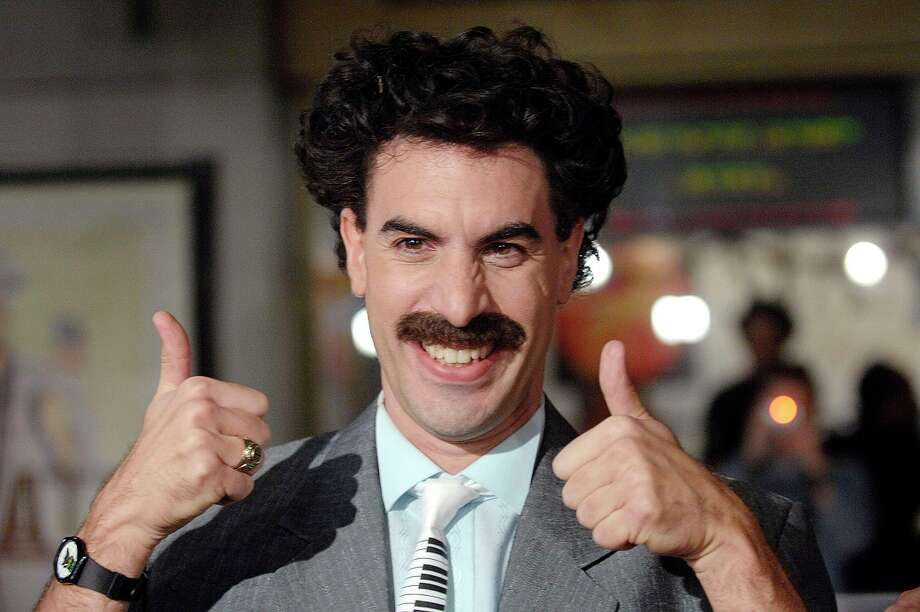 "430446e4f1 The swimsuits became a pop culture sensation in Cohen's 2006 movie ""Borat:  Cultural Learnings"