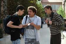 Superbad:  Nasty and funny, but also well-observed and poignant.