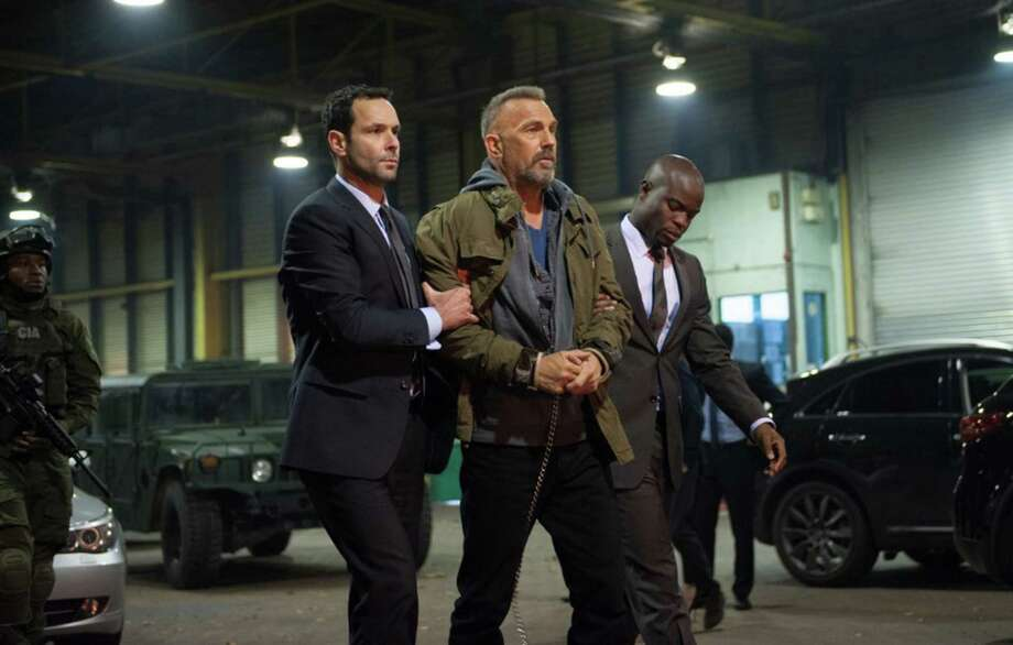 "Kevin Costner is a violent maniac in ""Criminal."" Photo: Lionsgate / TNS"