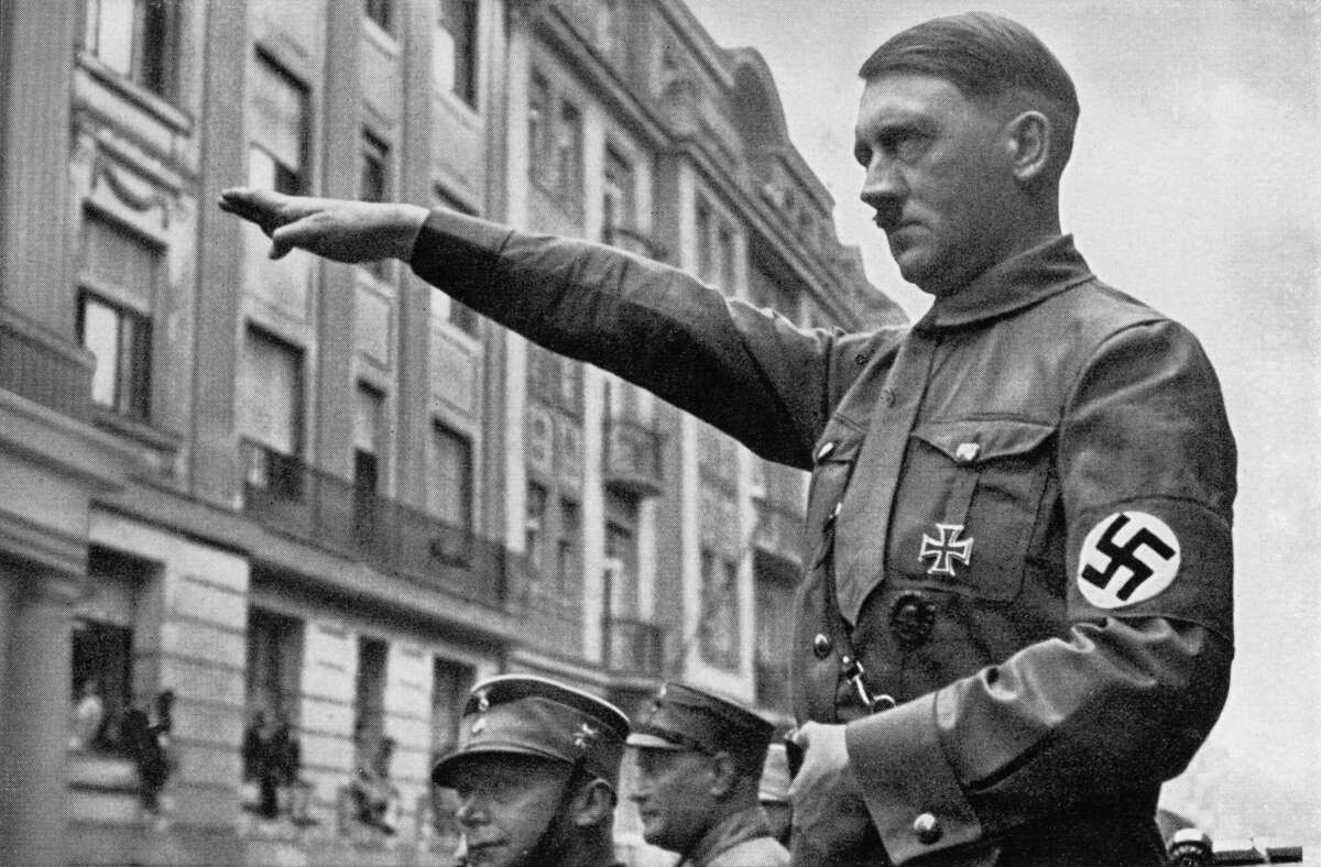 Hitler Adolf Hitler had killed himself in his bunker on April 30, leaving Grand Admiral Karl Donitz to do the actual surrendering.