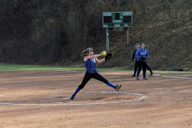 Shepaug pitcher and second baseman Aly Hofmann returns for the Spartans.