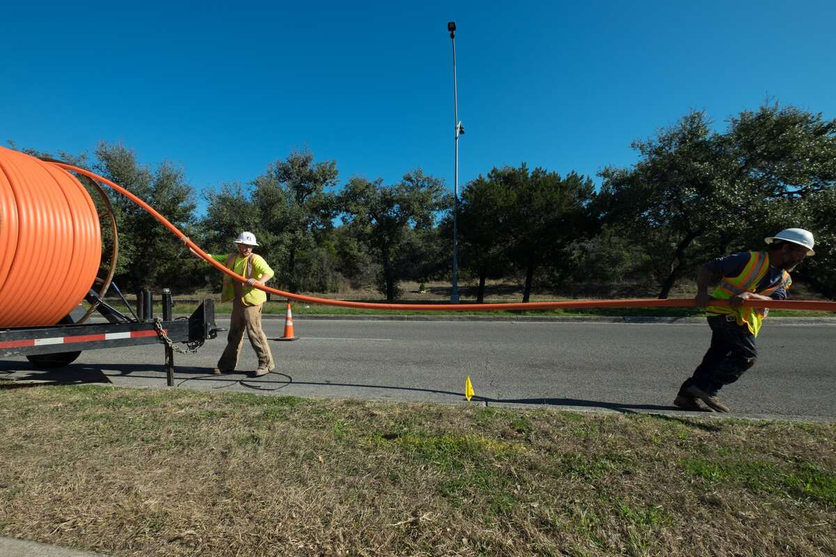 There's no timeline yet on when Google Fiber will start making connections to homes and businesses in San Antonio, but officials say that construction crews will be far more visible, trenching and working on utility poles.