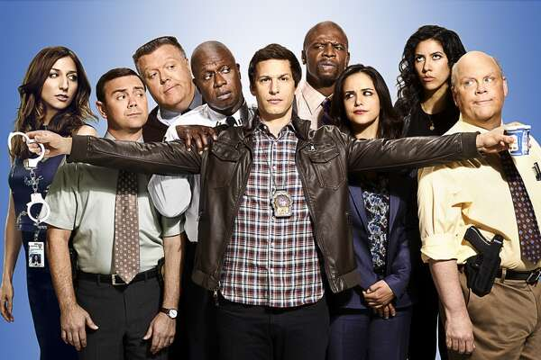 Brooklyn Nine-Nine's season finale finds Captain Holt in danger, and the entire Nine-Nine teaming up to save him. It airs on Tuesday, April 19th at 8/9 p.m. on Fox.