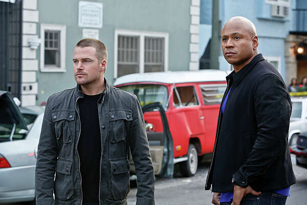 NCIS: Los Angeles   heads to San Francisco for the season finale after Sam's son's school is taken over by dangerous extremists. It airs Monday, May 2nd at 9/10 p.m. on CBS.