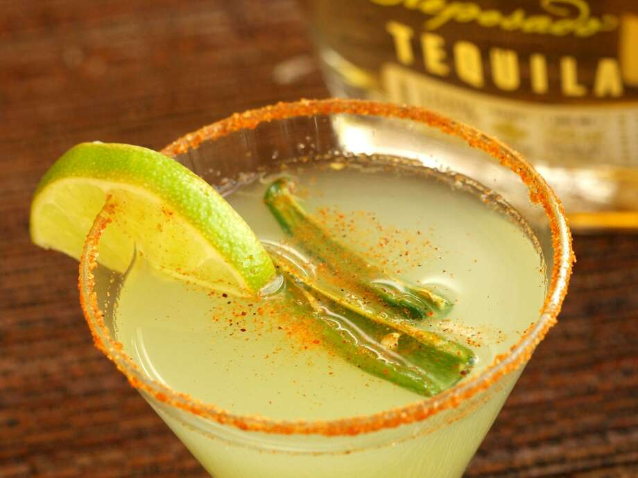 The jalapeño-spiked margarita from Aldaco's Mexican Cuisine. The restaurant's Dominion location is closing Sunday. Photo: Express-News File Photo / Robert McLeroy