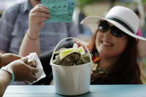 Fiesta Oyster Bake serves some 100,000 oysters each year, baked, fried and raw, but there's plenty for those not into bivalves.
