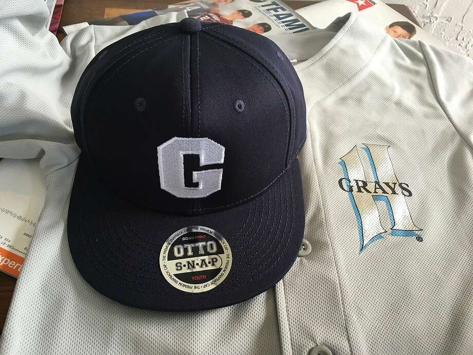 Homestead Grays uniforms (of the Negro Leagues) are worn by a team in the Mill Valley Little League Photo: Mill Valley Little League