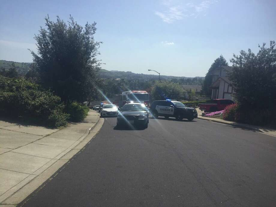 Deputies were at the scene of a murder-suicide Wednesday in Rodeo.