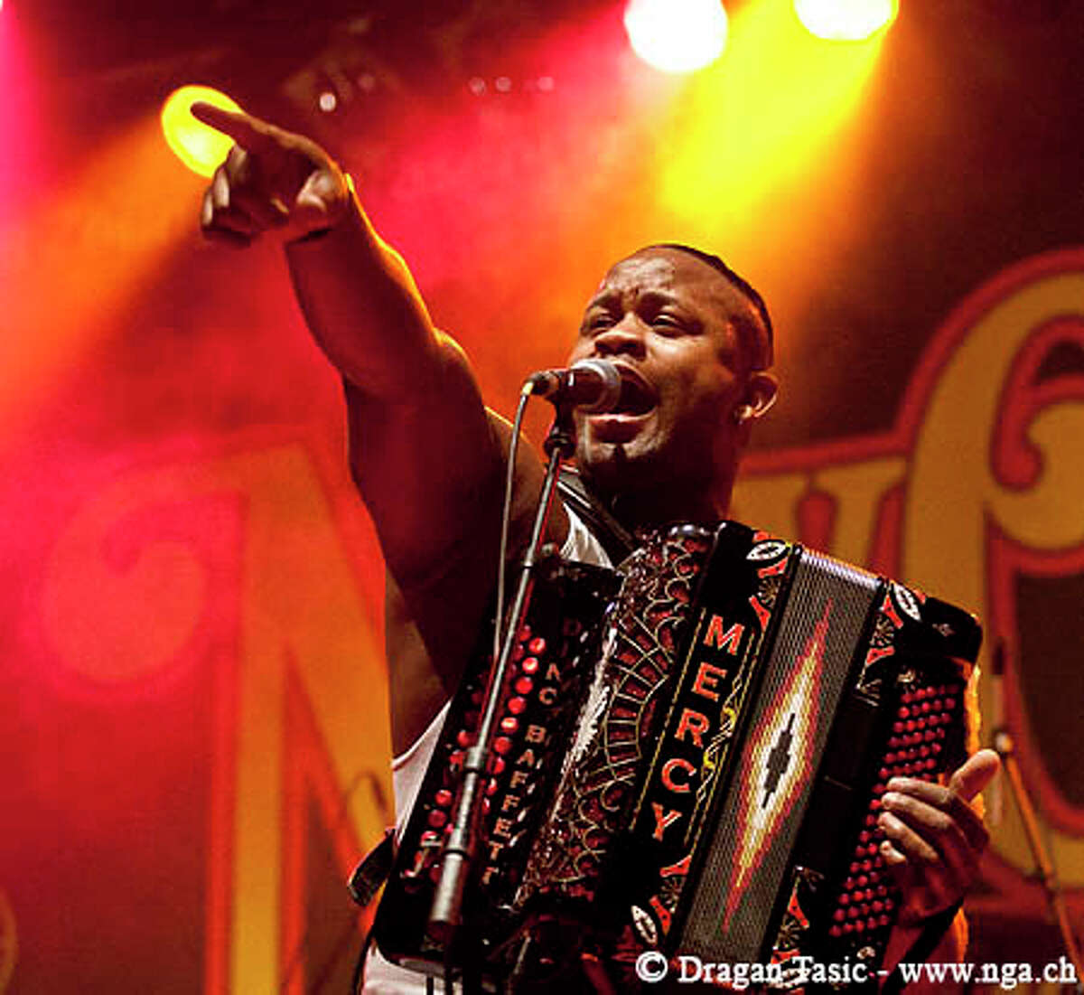 Dwayne Dopsie & the Zydeco Hellraisers will play A Taste of New Orleans.