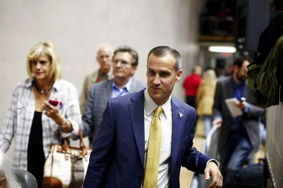 FILE � Corey Lewandowski, Donald Trump�s campaign manager, after a rally in Spartanburg, S.C., Nov. 20, 2015. Michelle Fields, a reporter with the conservative-aligned Breitbart News says that Lewandowski dragged her down by the arm as she was asking Trump a question � a confrontation that launched a flurry of allegations, counter-allegations, and now, a police report. (Travis Dove/The New York Times)