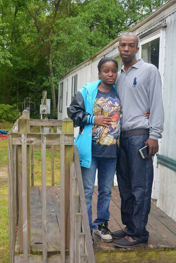 Lakeya Hicks and Elijah Pontoon allege police humiliated them during a body-cavity search. Photo: Meg Kinnard, AP