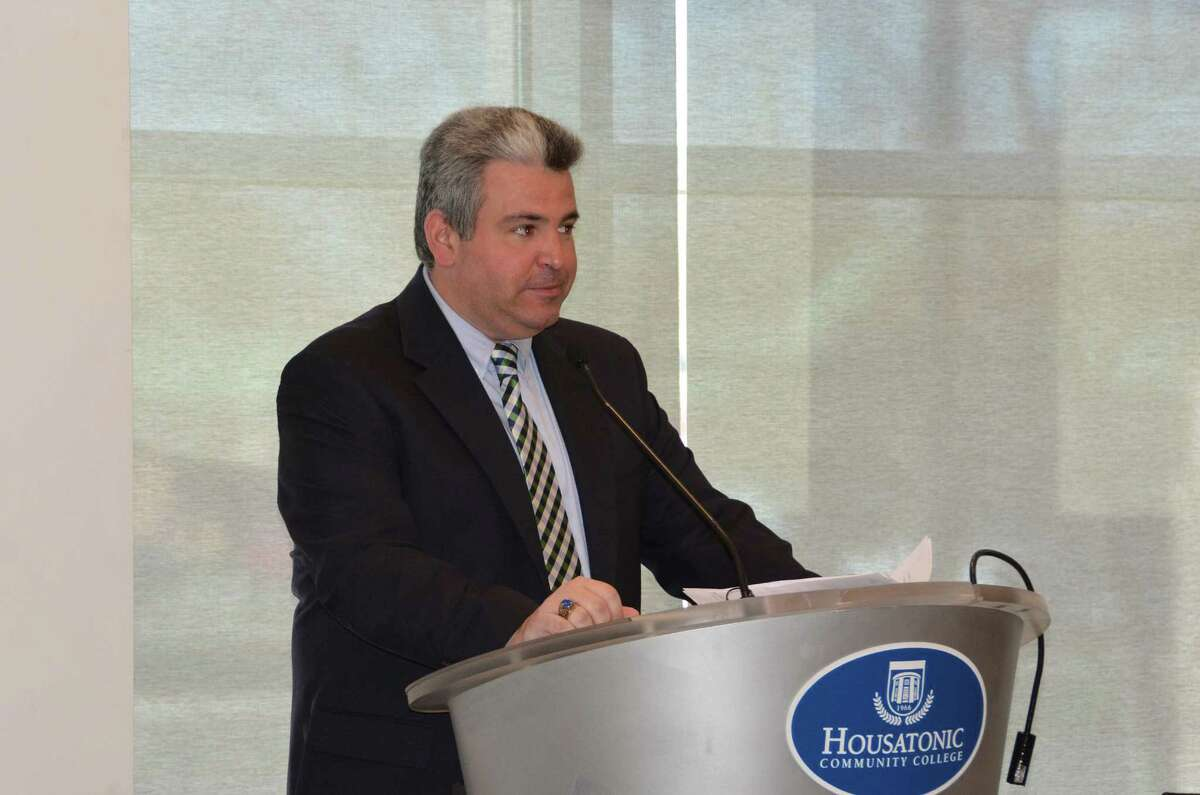 TheBridgeport Bluefish Leadoff Luncheon on April 14, 2016provided the business community an opportunity to meet the 2016 Bridgeport Bluefish. The event took place at Housatonic Community College.Linda McMahon was the keynotespeaker. Were you SEEN?