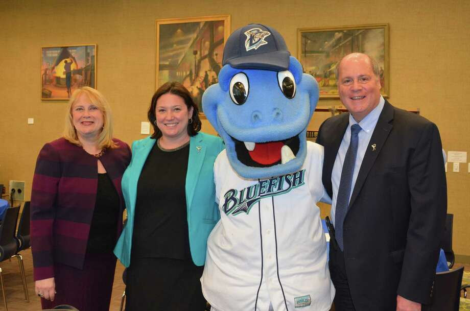 TheBridgeport Bluefish Leadoff Luncheon on April 14, 2016provided the business community an opportunity to meet the 2016 Bridgeport Bluefish. The event took place at Housatonic Community College.Linda McMahon was the keynotespeaker. Were you SEEN? Photo: Vic Eng / Connecticut Post