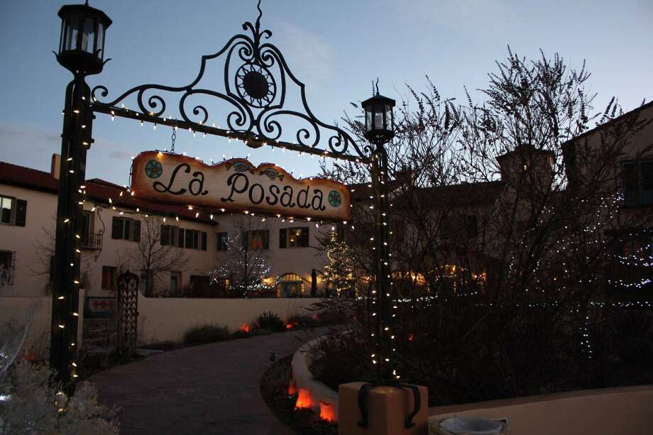 The La Posada Hotel in Winslow, Ariz., is a restored and somewhat reimagined Harvey House that since 1997 has been owned and operated by the husband-wife team of Allan Affeldt and Tina Mion. Photo: Reed Parsell /TNS / Sacramento Bee