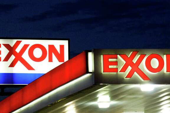 Exxon Mobil Corp. reported its worst profits since 1999, before Exxon merged with Mobil Corp.