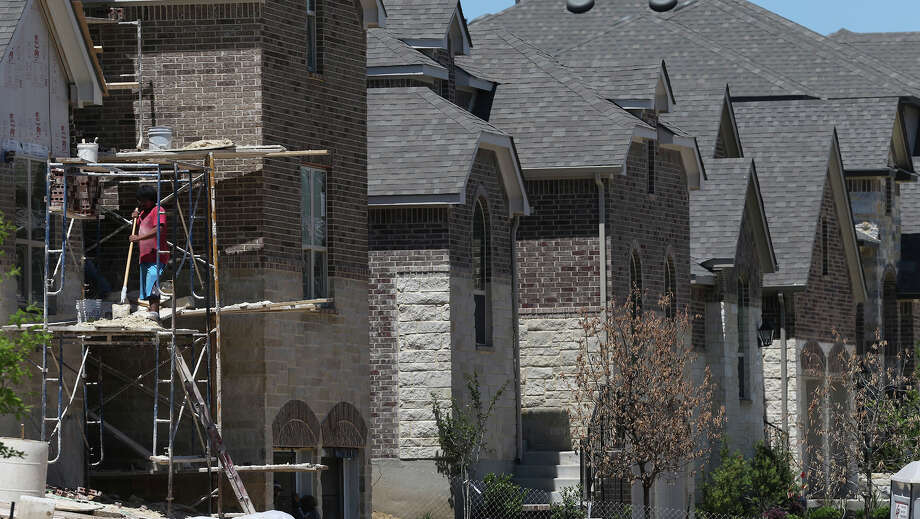 A shortage of construction workers and a tight supply of homes on the market have led San Antonio's home prices to surge in recent years. Click through the gallery to view houses with pools right around the city's median home price. Photo: John Davenport /San Antonio Express-News / ©San Antonio Express-News/John Davenport
