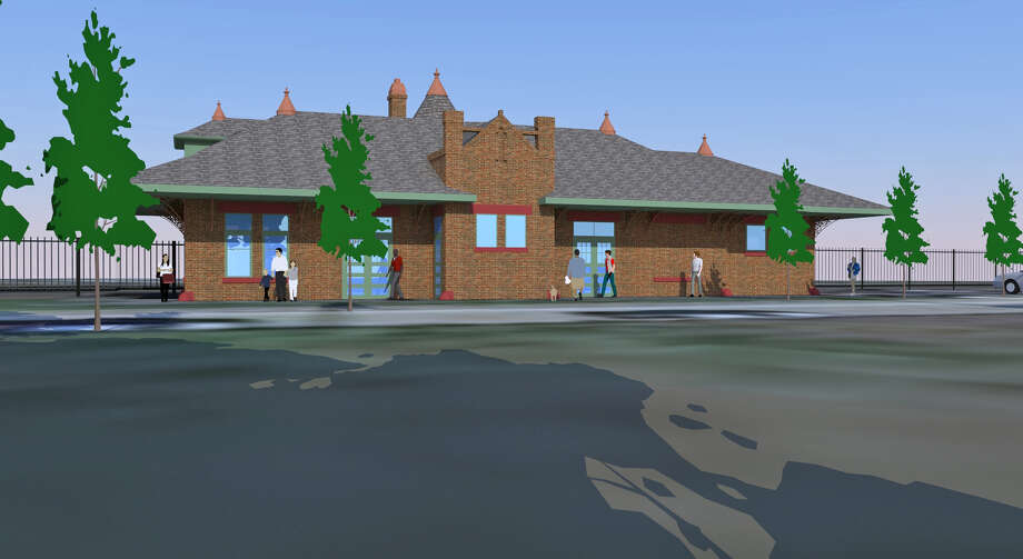 Renovations of the old Southern Pacific Railroad Depot will begin in the early spring.