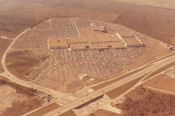 An aerial view of Parkdale Mall. Photo dated Dec. 1, 1973
